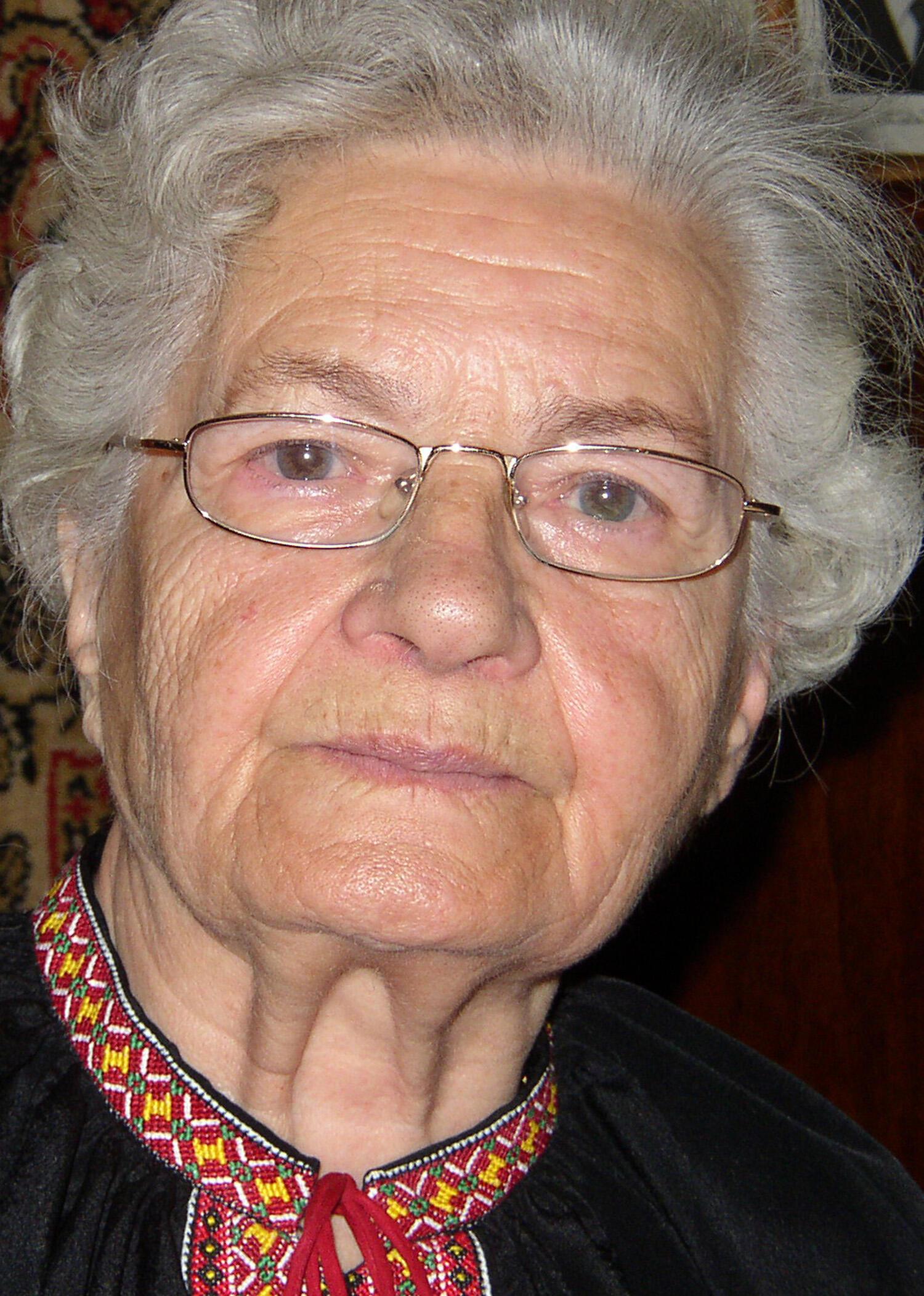 Vera Chopik.