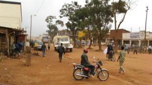 Le centre-ville de Butembo, dans le Nord-Kivu, en RDC (photo d'archives).
