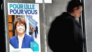 Martine Aubry est de nouveau candidate à sa propre succession à la mairie de Lille, aux mains des socialistes depuis 60 ans.