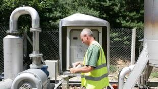 Produção de biogás na França.