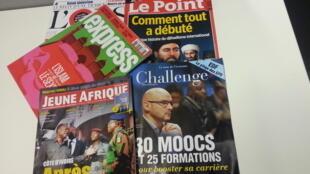 Capas de magazines news franceses de 26 de março de 2016
