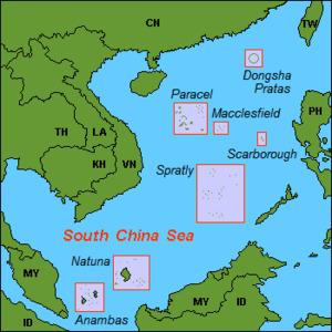 Quần đảo Hoàng Sa (Paracels) ở Biển Đông