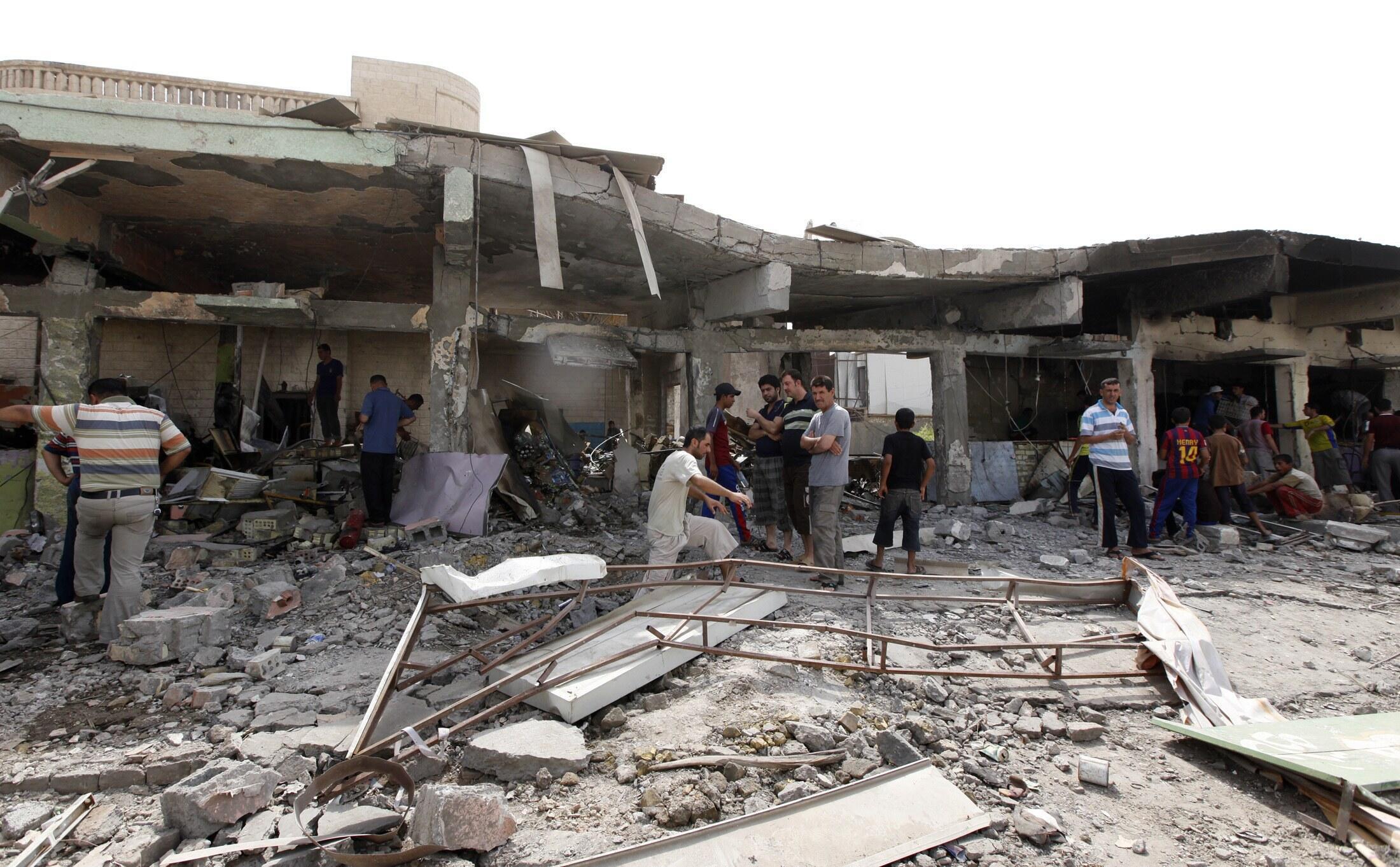 Wani wuri da Dan Kunar-Bakin wake ya kai hari a Iraqi