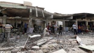 Os ataques suicidas são cada vez mais freqüentes no Iraque.