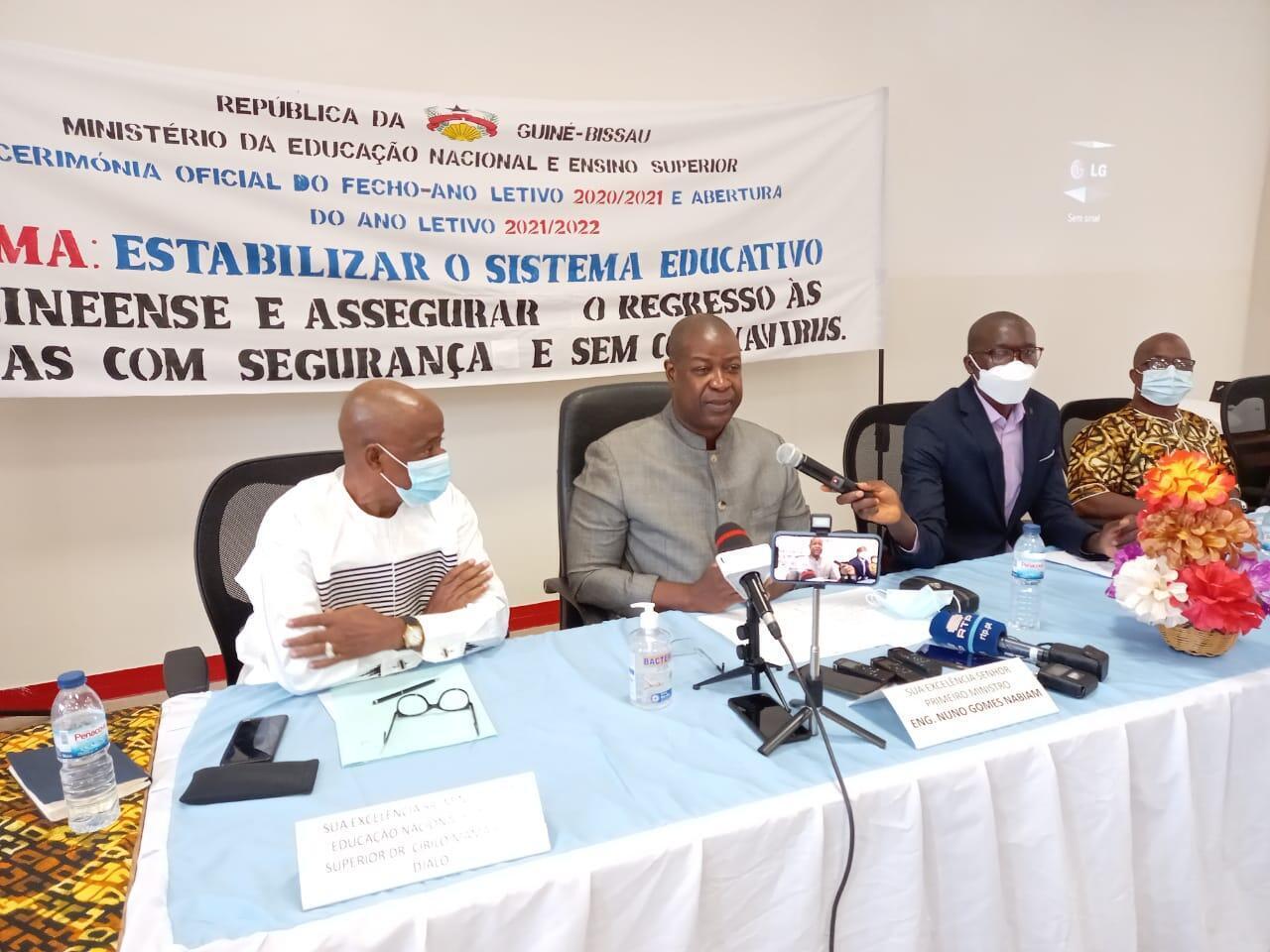 Nuno Gomes Nabiam - Governo - Guiné-Bissau - Política - Primeiro-ministro