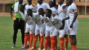 L'équipe du Niger en juin 2012.
