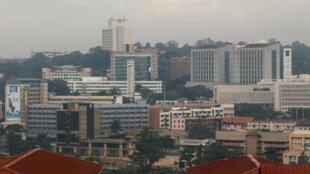 Moja ya maeneo ya mji mkuu wa Uganda, Kampala.