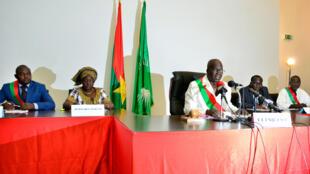 Chérif Sy, le président du Conseil national de transition, l'assemblée intérimaire burkinabè.