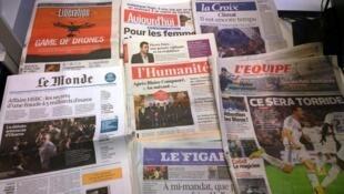 Diários franceses 03/11/2014
