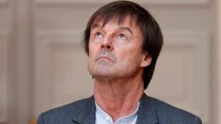 French Enviroment Minister Nicolas Hulot