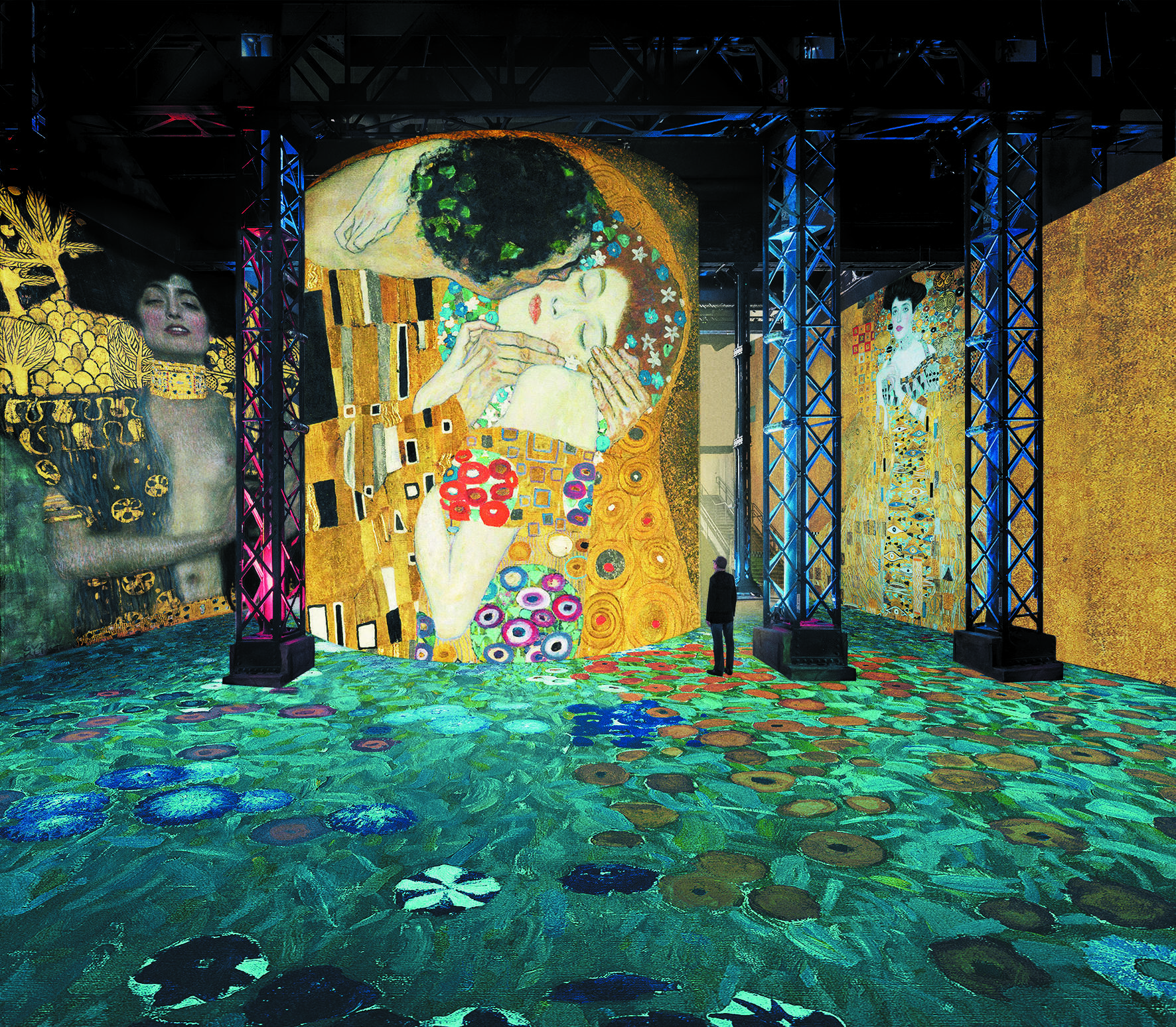 В Париже открылся центр цифрового искусства Atelier des lumières. Первая выставка посвящена венскому мастеру Густаву Климту