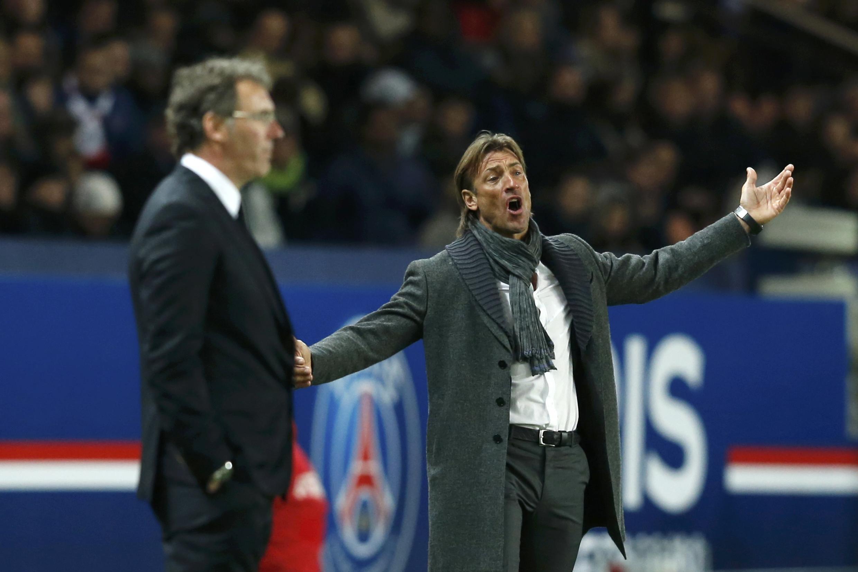 Hervé Renard (à direita), até agora treinador do Sochaux, é o novo técnico da Costa do Marfim.