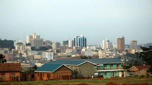 Skyline of Kampala, Uganda
