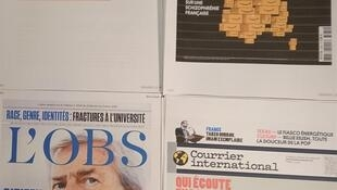 Semanários franceses  27 02 2021