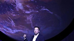 Основатель частной космической компании SpaceX Илон Маск