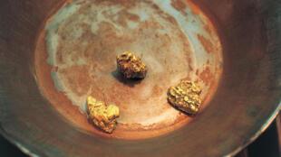 Des pépites d'or trouvées à Dawson aux Etats-Unis.
