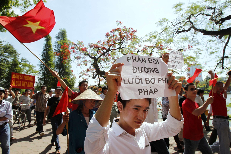 Biểu tình tại Hà Nội ngày 05/06/2011