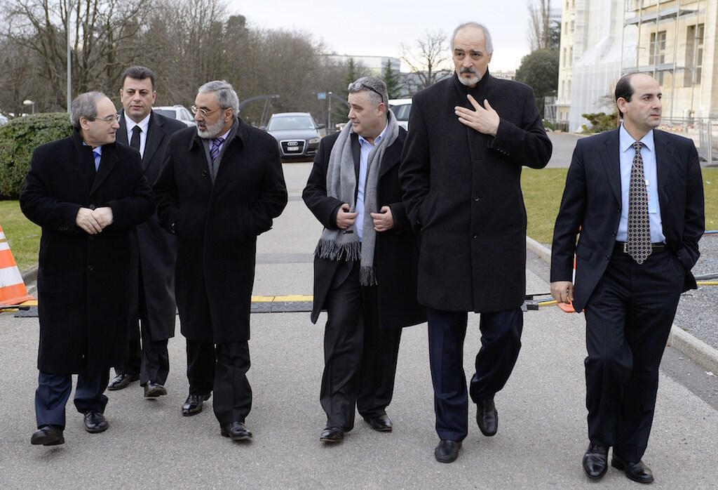 Ujumbe wa Serikali ya Syria ukiwa mjini Geneva