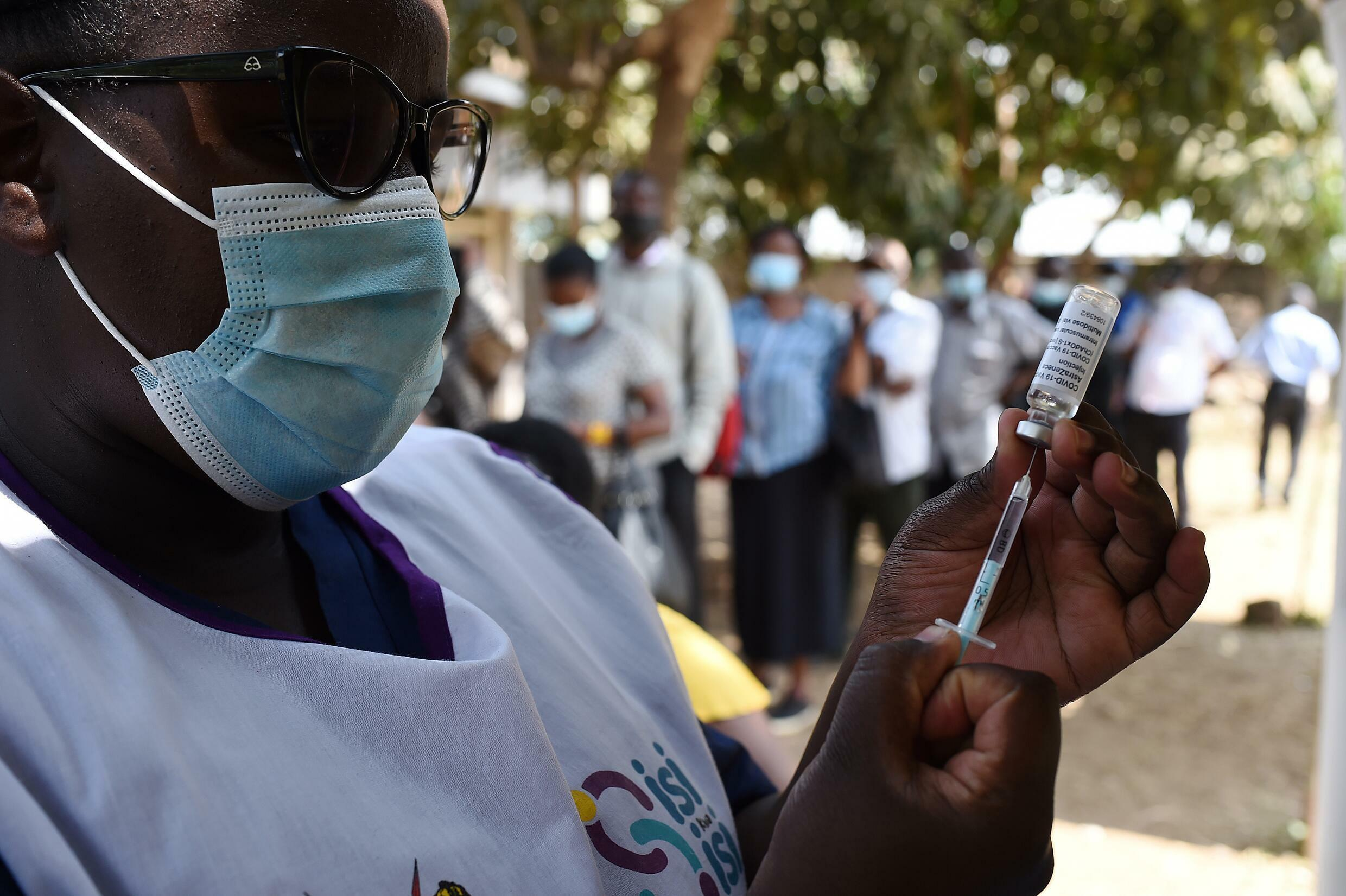 Less than three percent of Kenya's population has been vaccinated