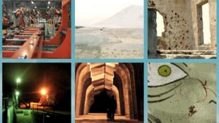 Capture d'écran des films présentés en ligne au Festival Gabès Cinéma Fen en Tunisie.