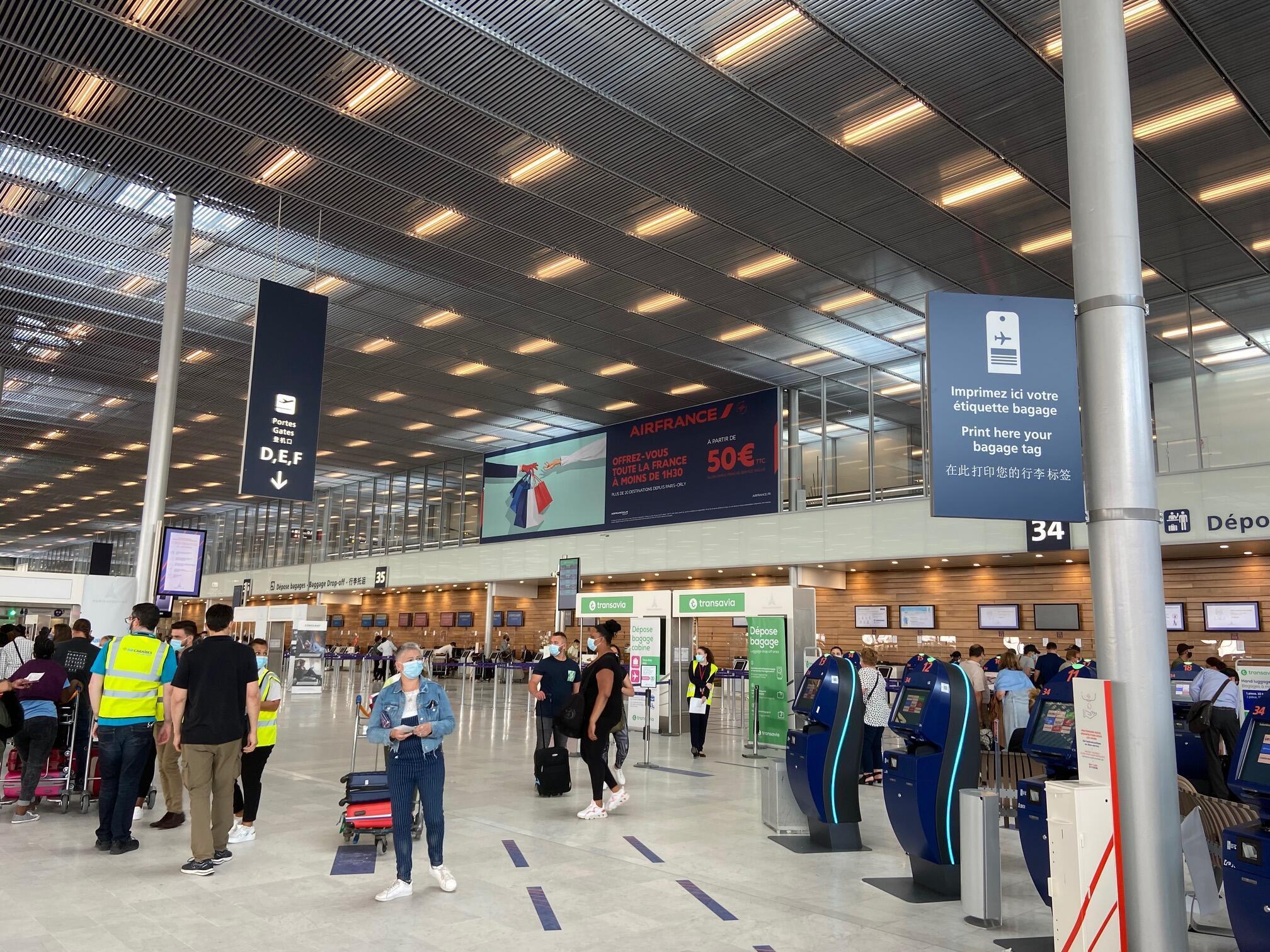 Aeroporto de Orly reabriu a 26 de Junho de 2020.