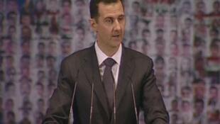 Raisi wa Syria,Bashar Al Assad ambaye majeshi yake yanaendeleza mapambano dhidi ya makundi mbalimbali yanayopinga utawala wake nchini humo.