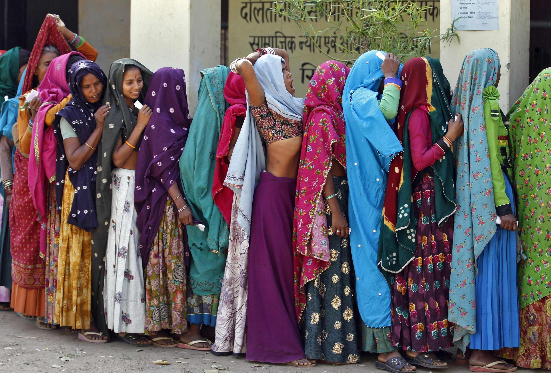 Elections en Inde.