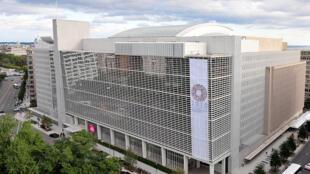 Le bâtiment du groupe de la Banque mondiale à Washington, D.C.
