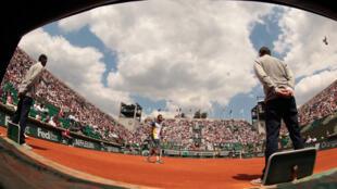 O tenista André Sá contabilizou mais uma vitória para o Brasil em Roland Garros