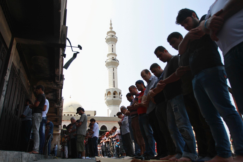 La sécurité a été renforcée autour des mosquées à Beyrouth.