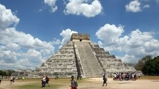 Au Mexique, dans le Yucata, la zone archéologique de Chichen Itza.