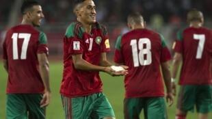 Fayçal Fajr a offert les trois points au Maroc afec aux Comores.