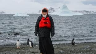 Патриарх Кирилл и пингвины