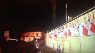 The conference centre in Valleta where the EU-Africa migrant summit is being held