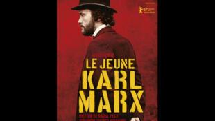 Affiche du film «Le jeune Karl Marx», de Raoul Peck.