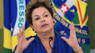 Shugabar kasar Brazil Dilma Rousseff