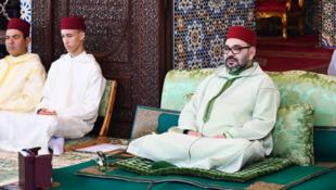 摩洛哥國王穆罕默德六世資料圖片