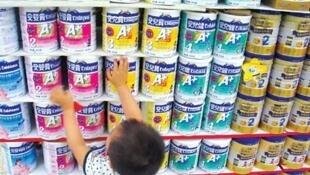 中國奶粉問題頻出