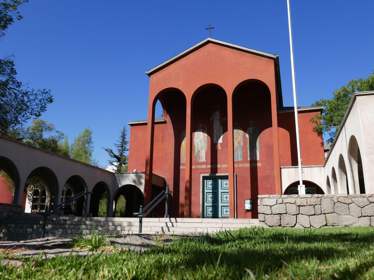 Iglesia El Bosque en Santiago de Chile.