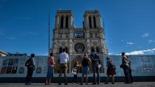 French officials aim to complete the restoration of Notre-Dame by 2024