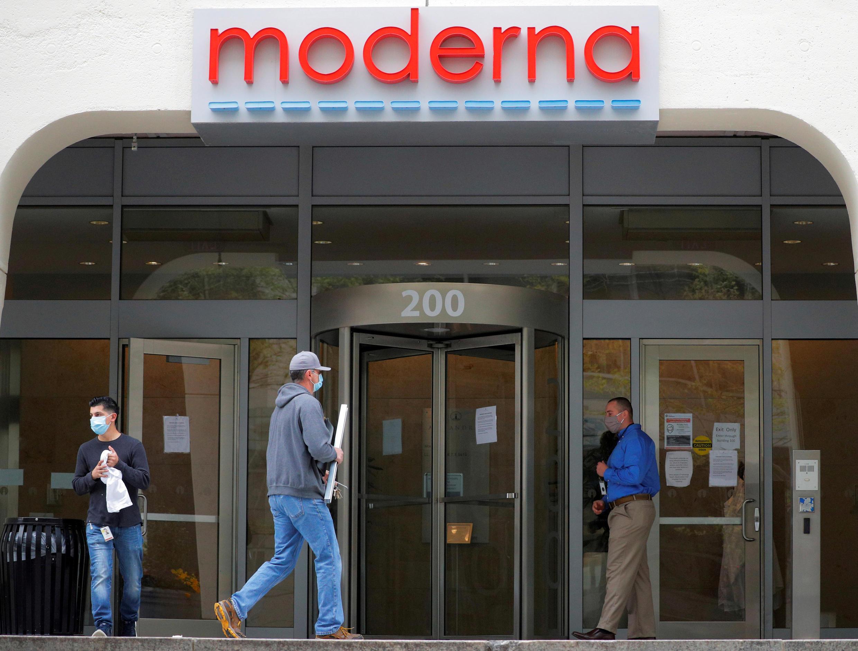 美国生技药厂莫德纳(Moderna)总部所在地,3万名志愿者参加莫德纳新冠疫苗人体试验。