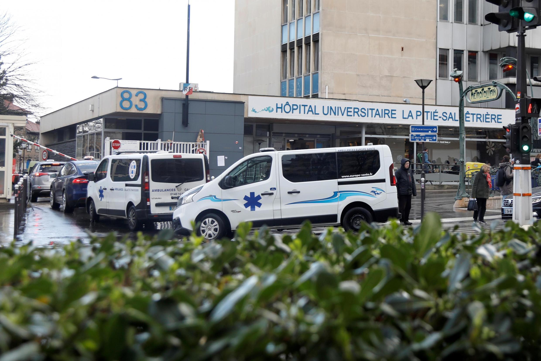 Bệnh viện Pháp Pitie-Salpetriere ở Paris, nơi có bệnh nhân tử vong ngày 25/02/2020