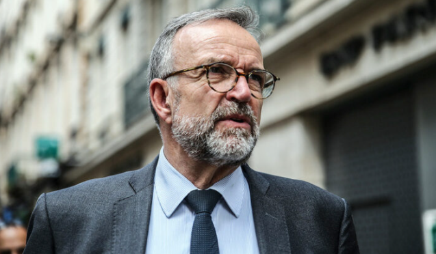 擔任調查團主席的法國參議員勃朗資料圖片