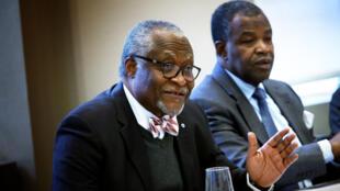 L'ancien bâtonnier camerounais Akere Muna se présente à l'élection présidentielle camerounaise de 2018.