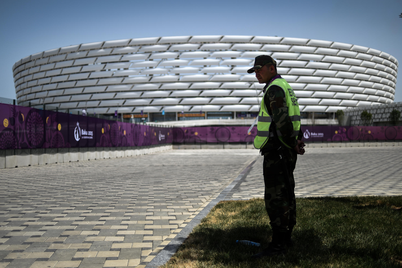 Стадион в Баку, на котором проводятся Европейские игры, 11 июня 2015.