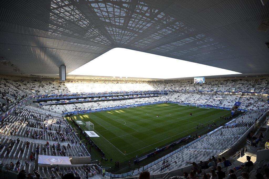 O estádio Matmut-Atlantique, de Bordeaux, com capacidade de 42 mil torcedores, foi construído para a Euro 2016.