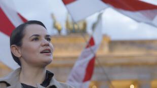 Biélorussie - Svetlana Tikhanovskaya - PHOTO ECLAIRCIE - AFP - Carrefour de l'Europe - 000_8RG6AC