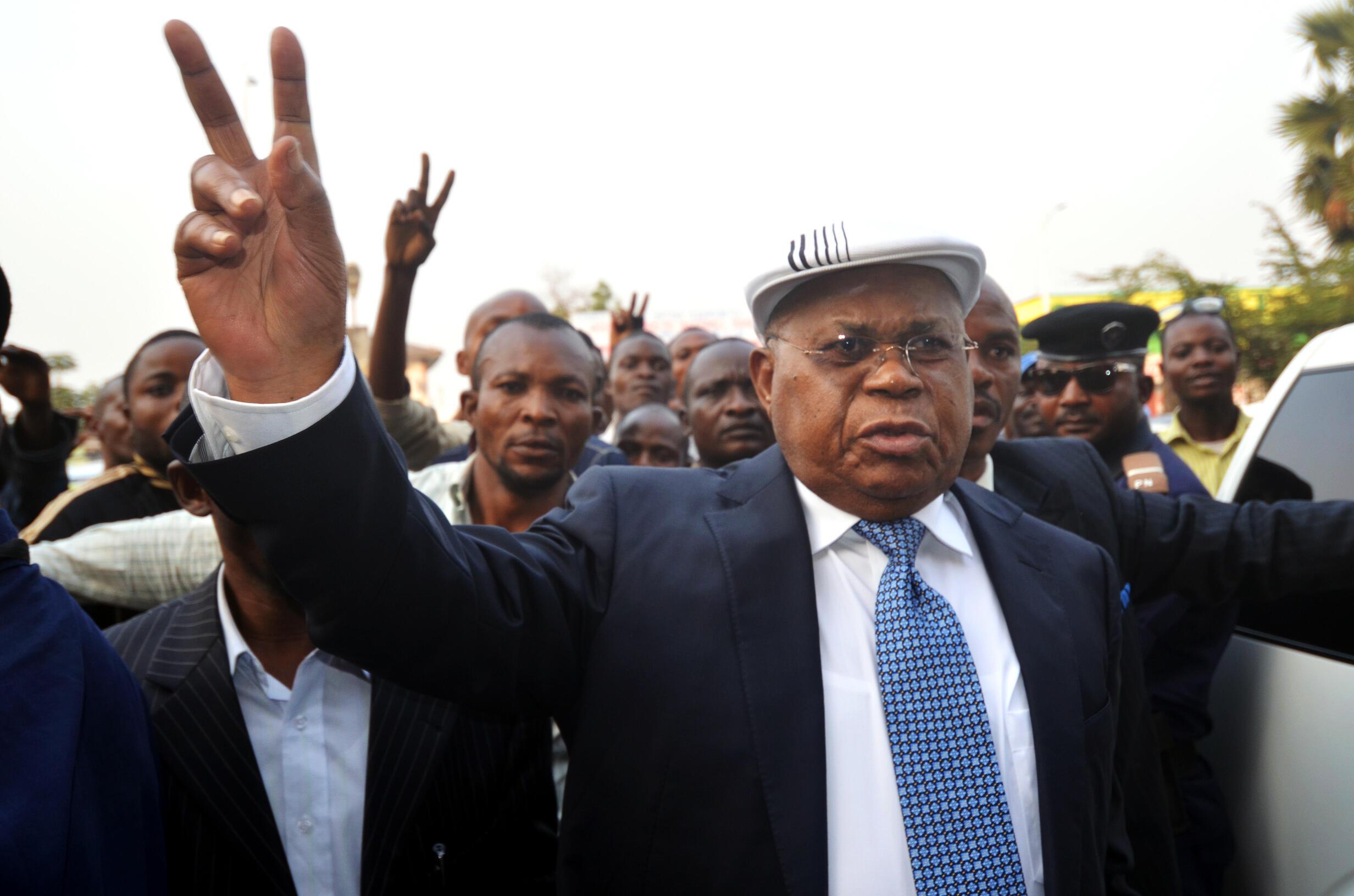 Kiongozi wa chama kikuu cha upinzani UDPS Etienne Tshisekedi anayeshiriki katika mazungumzo mapya