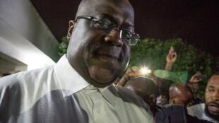 Félix Tshisekedi, le 10 janvier 2019 à Limete (Kinshasa).