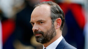 Новый премьер-министр Франции, представитель правой партии «Республиканцы» Эдуар Филипп, 15 мая 2017 года